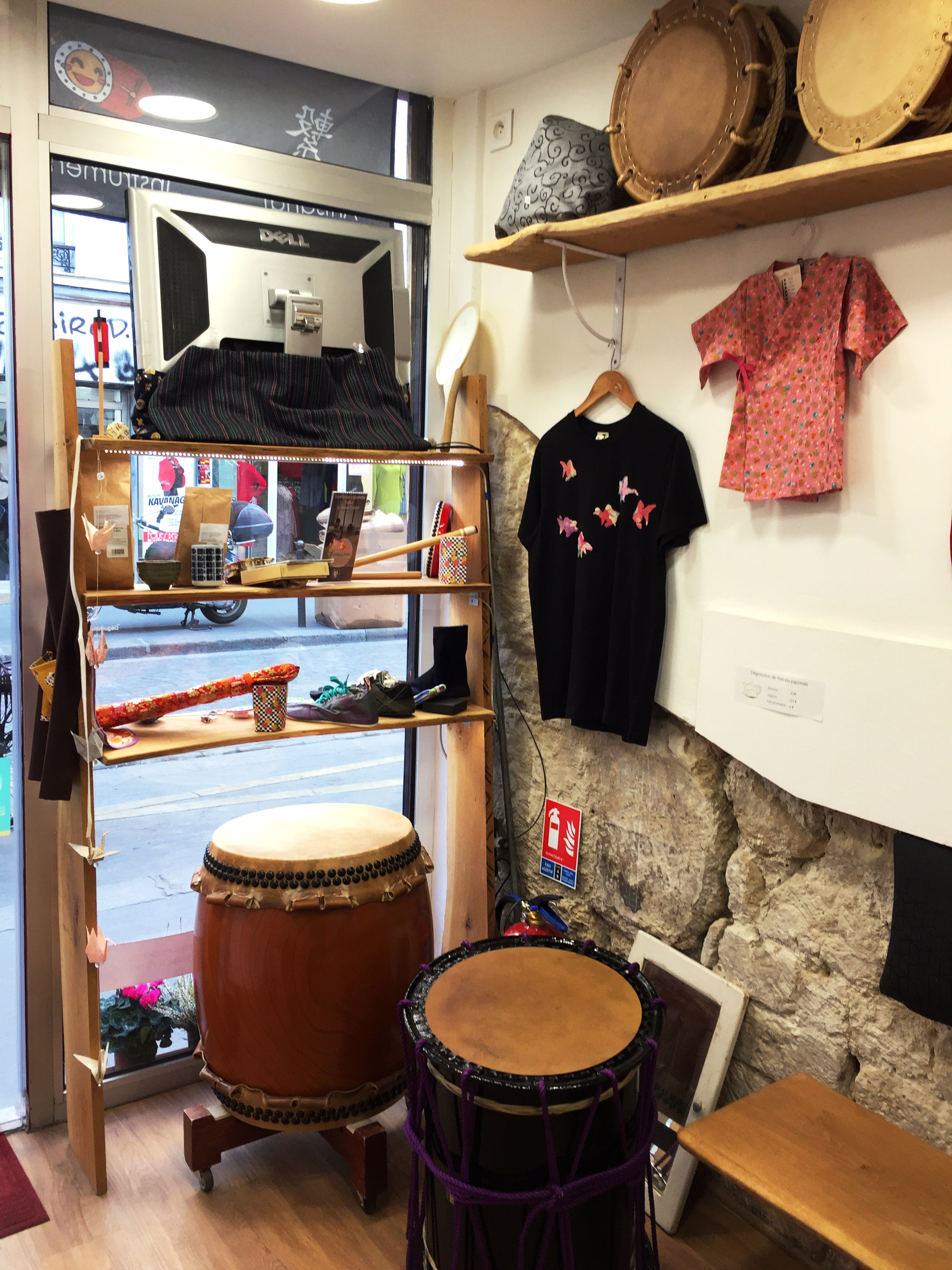 la boutique - tambour japonais et parade awa odori - tsunagari taiko
