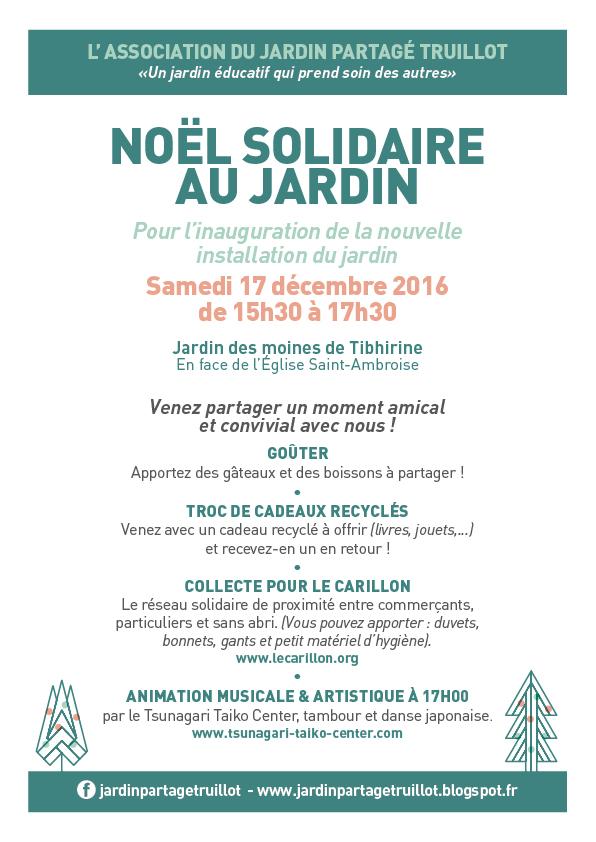 No l solidaire au jardin tambour japonais et parade awa for Jardin truillot